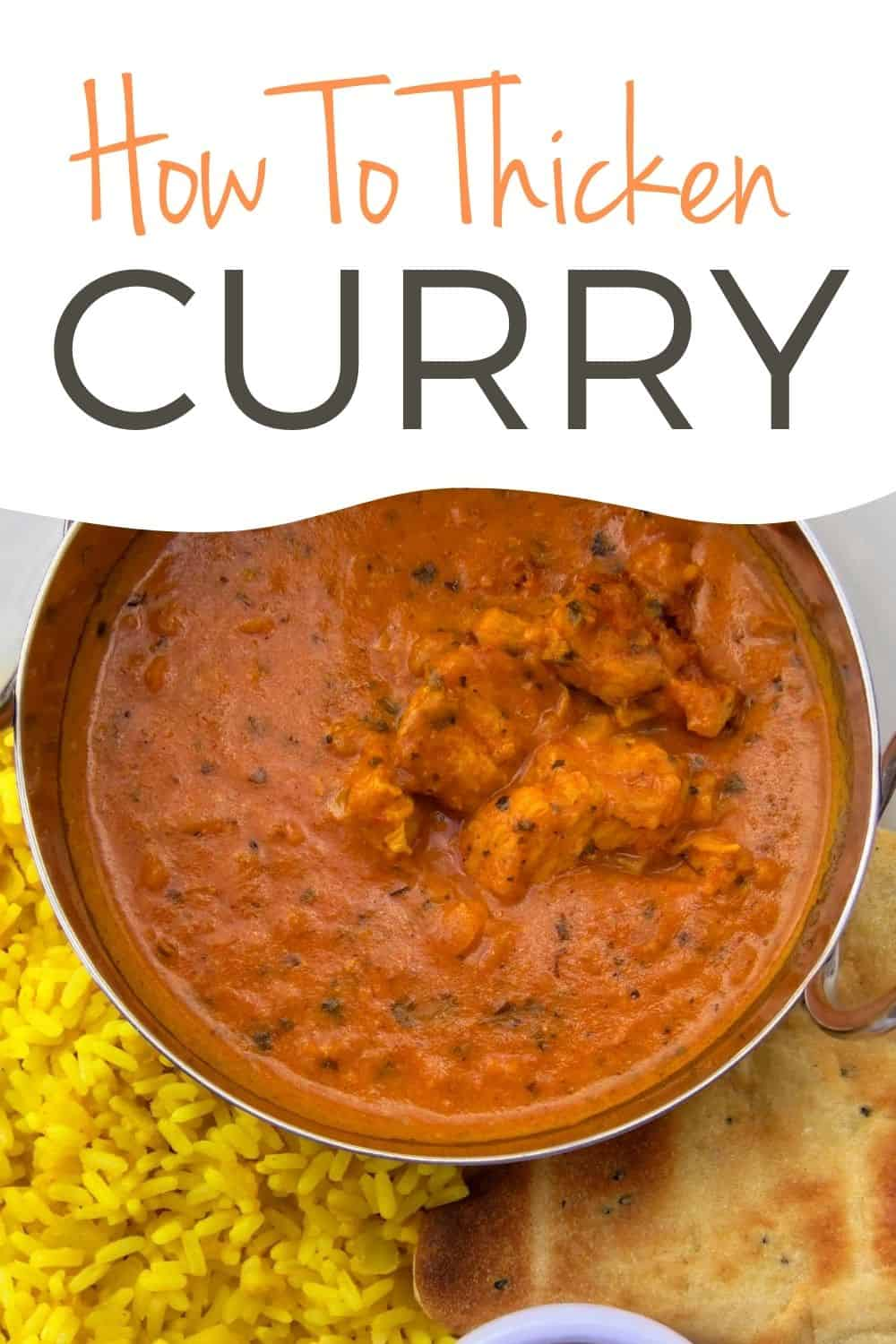 how to thicken a curry sauce